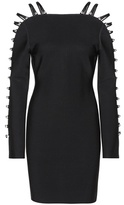 David Koma Stretch-knit dress