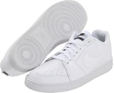 Nike Backboard II (White/White/Black/White) Men's Lace up casual Shoes