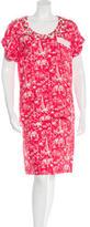 Louis Vuitton Embellished Skirt Set