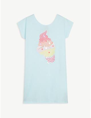 Billieblush Ice cream-print cotton dress 4-12 years