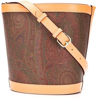 Etro Paisley-Print Bucket Bag