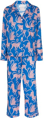 Desmond & Dempsey Chango print pyjamas
