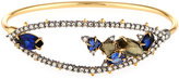 Alexis Bittar Crystal Spike Tension Bangle