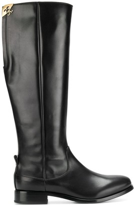 Fabi knee high boots