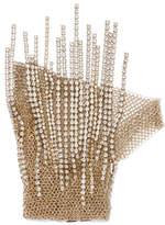 Lanvin Gold-tone Crystal Glove