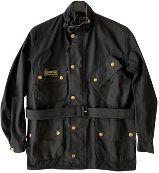 Barbour Black Cotton Jacket for Women Vintage
