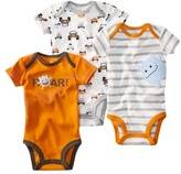 Carter's JUST ONE YOU Made by Infant Boys 3 Pack Bodysuit Set - Orange