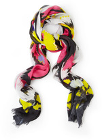 Lily & Lionel Lana Floral Graphic Modal Scarf