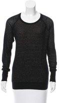 Derek Lam 10 Crosby Laser Cut Wool Sweater