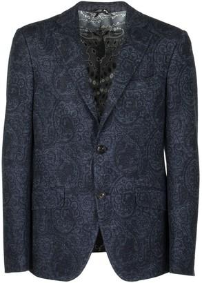 Etro Fantasy Printed Cotton And Linen Jacket