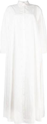 Palmer Harding Slit-Detailing Shirt Dress