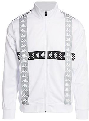 Kappa 222 Banda Rodin Logo Tape Track Jacket
