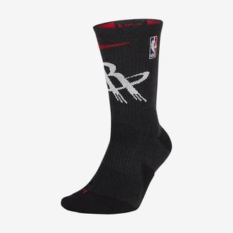 Nike NBA Crew Socks Houston Rockets Elite