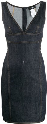 DSQUARED2 tube denim dress