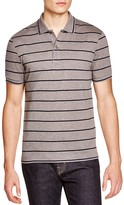 Lacoste Stripe Piqué Slim Fit Polo Shirt