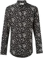 Saint Laurent Signature Dylan collar printed shirt