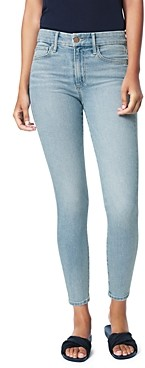 Joe's Jeans The Icon Cropped Skinny Jeans in Plumeria