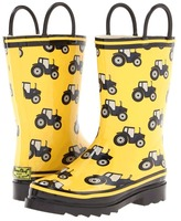 Western Chief Tractor Traffic Rain Boot (Toddler/Youth) (Yellow) - Footwear
