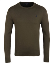 Polo Ralph Lauren New Olive Long Sleeve Sweater