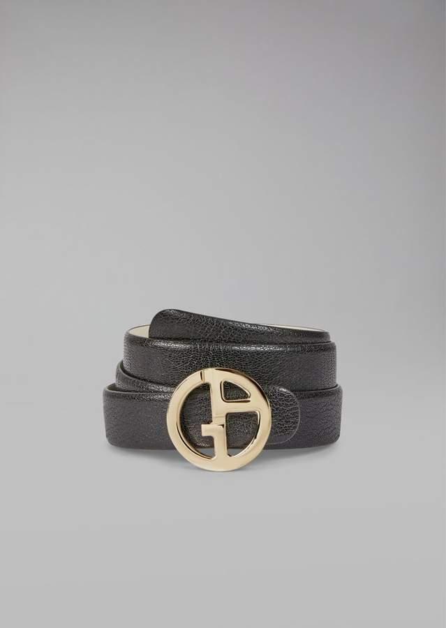 Giorgio Armani Reversible Belt With Logo
