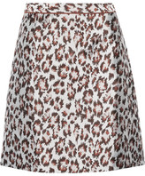 Christopher Kane Leopard-jacquard Mini Skirt - IT46