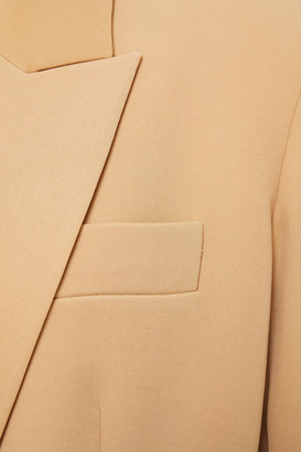 Vince Double-breasted Crepe Blazer