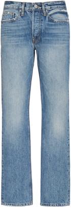 Frame L'homme Rigid Mid-Rise Straight-Leg Jeans