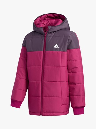 adidas Children's Padded Jacket, Pink
