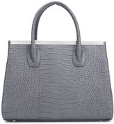 Thomas Wylde crocodile effect tote - women - Calf Leather - One Size