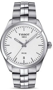 Tissot Pr 100 Stainless Steel Watch, 39mm