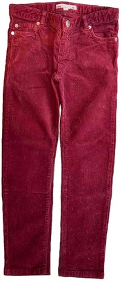 Bonpoint Red Denim - Jeans Trousers