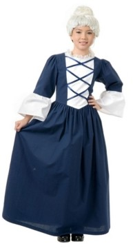 BuySeasons Big Girl's Martha Washington Child Costume