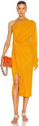 Dodo Bar Or Hanna Dress in Mustard | FWRD