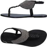 Pieces Toe strap sandals