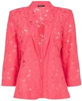 *Roman Originals Pink Lace Jacket