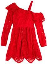 Bardot Junior Girls' Asymmetrical Lace Dress