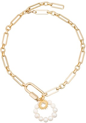 The Oriana Large Pendant Chain Necklace