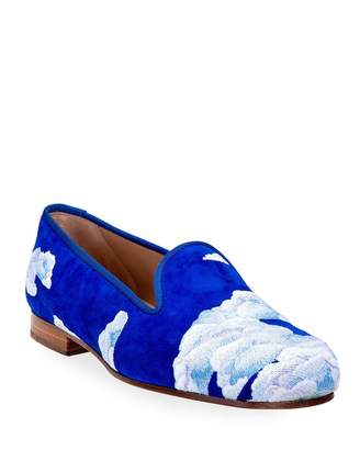 Cloud Nine Stubbs and Wootton Suede Slippers