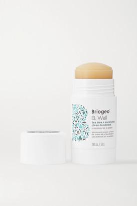 BRIOGEO B. Well Tea Tree And Eucalyptus Clean Deodorant, 52g