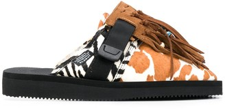 Alanui Animal Patchwork Suicoke Mules