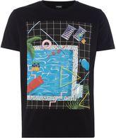 Diesel Pool Graphic T-shirt