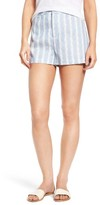 Cupcakes And Cashmere Women's Brinley Stripe Shorts