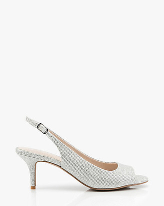 Le Château Peep Toe Slingback Sandal