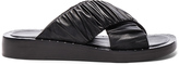 3.1 Phillip Lim Leather Nagano Slides