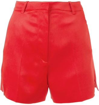 Thierry Mugler High-Waisted Pleated Shorts