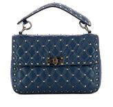 Valentino Blue Leather Handle Bag