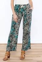 Santiki Printed Wide Leg Pant