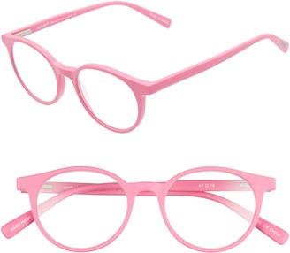 Eyebobs Case Closed 49mm Round Reading Glasses