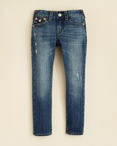 True Religion Boys' Geno Slim Fit Classic Jeans - Sizes 2-4