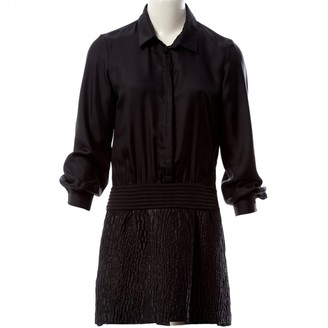 Jay Ahr Black Synthetic Dresses